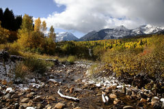 Rocky Mountain Fall Stock Photo