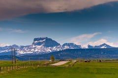 Rocky Mountain Foothills Immagine Stock Libera da Diritti