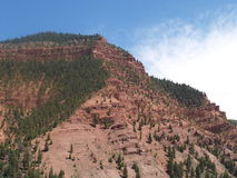 Rocky Mountain foothills Stock Photo