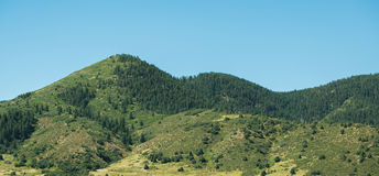 Rocky Mountain Foothills. Foothills to the rocky mountains just outside of Denver in Jefferson County Stock Images