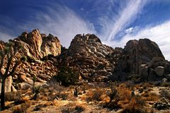 Rocky Mountain Formations at Joshua Tree Royalty Free Stock Image