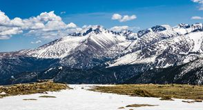Rocky Mountain Front Range View Royalty Free Stock Image