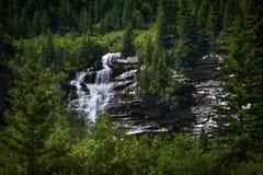 Rocky Mountain Heaven, caídas de la cala del oso, telururo, Colorado foto de archivo
