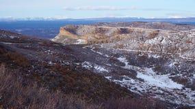 Rocky Mountain i vintern Fotografering för Bildbyråer