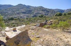 rocky mountain krajobrazu Zdjęcia Stock