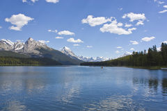 Rocky mountain lake Royalty Free Stock Image