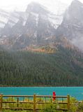 Rocky Mountain Lake Stock Photo
