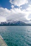 rocky mountain lake Zdjęcie Royalty Free