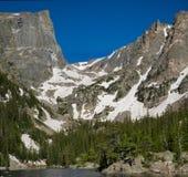 rocky mountain lake Fotografia Royalty Free