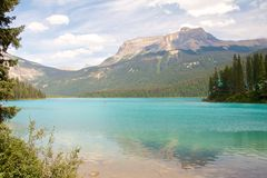 Rocky Mountain Lake Stock Images
