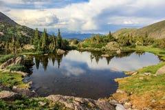 Rocky Mountain Landscape in Colorado, de V.S. royalty-vrije stock afbeelding