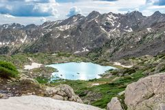 Rocky Mountain Landscape Royalty Free Stock Photo