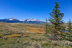 Rocky Mountain Landscape Royalty Free Stock Photography