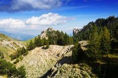 Rocky mountain landscape Royalty Free Stock Image