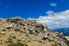 Rocky mountain landscape Royalty Free Stock Photos