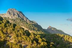 Rocky mountain in Mallorca Stock Image