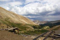 Rocky Mountain Mine Fotografia de Stock Royalty Free