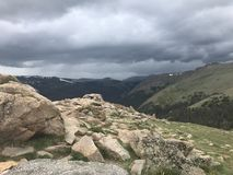 Rocky Mountain National Forest Stock Image