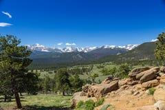 Rocky Mountain National Park foto de archivo