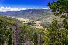 Rocky Mountain National Park fotos de archivo