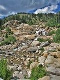 Rocky Mountain National Park. Beautiful landscape at Rocky Mountain National Park near Estes Park, Colorado stock images