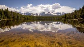 Rocky Mountain National Park Bierstadt sjö Fotografering för Bildbyråer