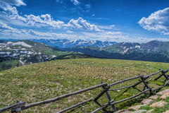 Rocky Mountain National Park, CO fotografia stock