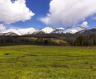 Rocky Mountain National Park. In Colorado stock photo