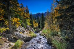 Rocky Mountain National Park in Colorado Royalty Free Stock Images