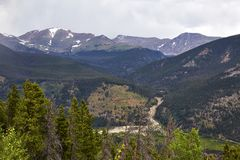 Rocky Mountain National Park, Colorado stock images