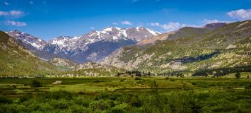 Rocky Mountain National Park dans le Colorado Photos stock