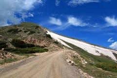Rocky Mountain National Park in de lente/de zomer Stock Afbeeldingen
