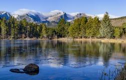 Rocky Mountain National Park Estes parkerar Colorado Arkivfoton
