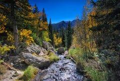 Rocky Mountain National Park i Colorado Royaltyfria Bilder