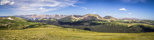 Rocky Mountain National Park Never-Sommer-Wildnis Stockfotos