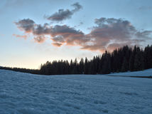 Rocky Mountain National Park Sunset Royalty Free Stock Images