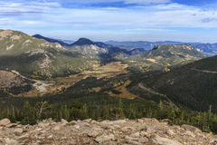 Rocky Mountain National Park. Trail ridge Road in Rocky Mountain National Park Stock Photography