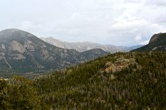 Rocky Mountain National Park royalty free stock photo