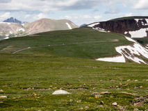 Rocky Mountain National Park USA Arkivbild