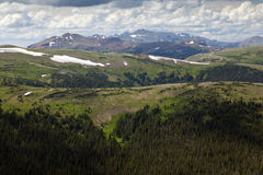 Rocky Mountain National Park View Fotografia de Stock