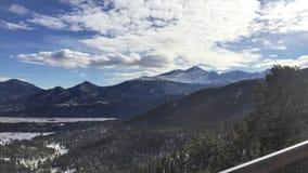 Rocky Mountain National Park View images libres de droits