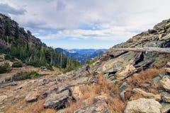 Rocky Mountain National Park Views royalty-vrije stock fotografie