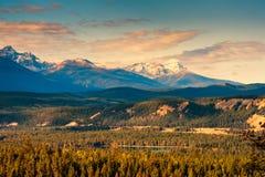 Rocky Mountain, Nationalpark Banffs lizenzfreies stockbild