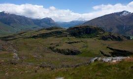 The Rocky Mountain near Wanaka in New Zealand. The Rocky Mountain near Wanaka in the South Island in New Zealand stock photos