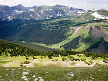 Rocky mountain NP, mountain views Royalty Free Stock Images
