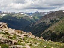 Rocky mountain NP, mountain views Stock Photography