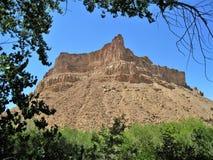 Rocky Mountain nya Green River, Utah Royaltyfria Foton