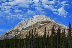 Rocky mountain peak