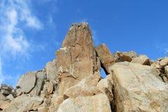 Rocky mountain peak Stock Image