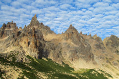 Rocky mountain peaks Stock Photos